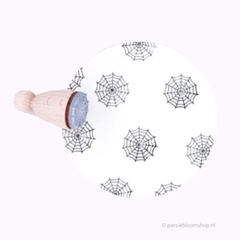Mini stempel spinnenweb | M |