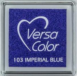 Versacolor blauw stempelkussen Imperial blue 103