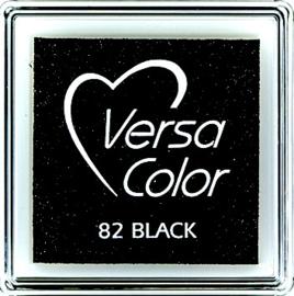 Versacolor |  82 BLACK  | Zwart stempelkussen