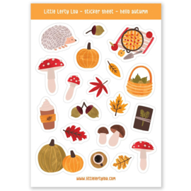 Stickers herfst natuur