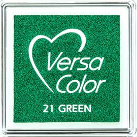 Versacolor |  21 GREEN  | Groen stempelkussen