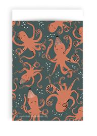 Cadeauzakjes octopus feest