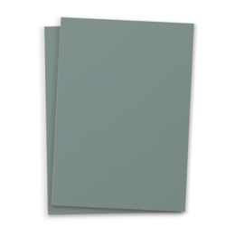DIY blanco kaart Petrol blauw A6