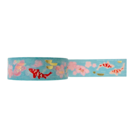 Washi tape koi karper vissen japan