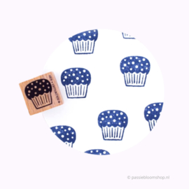 Stempel cupcake taartje, muffin