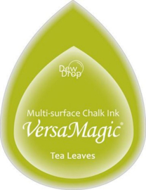 Versamagic Tea Leaves groene stempelinkt