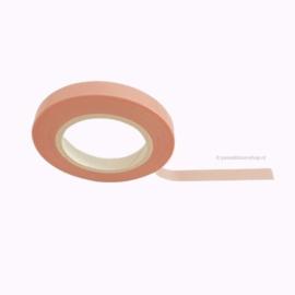 Dun washi tape egaal licht roze