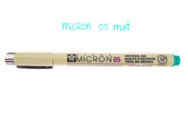 Fineliner Micron | 05 | Mint groen