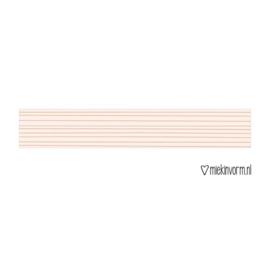Roze streepjes washi tape