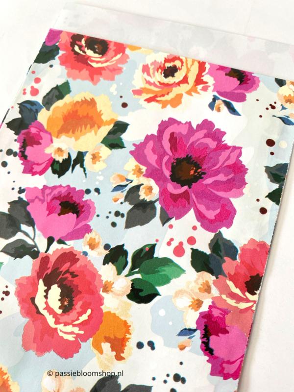 Cadeauzakjes zomer bloemen