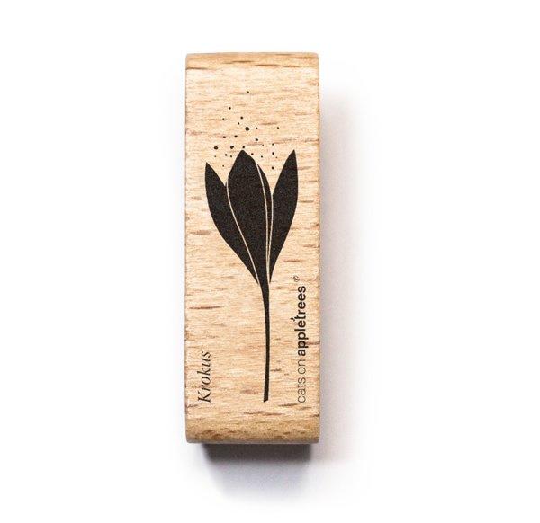 Stempel krokus bloem