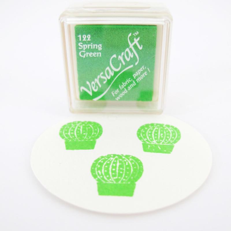 Stempelkussen Versacraft | GROEN | Spring Green