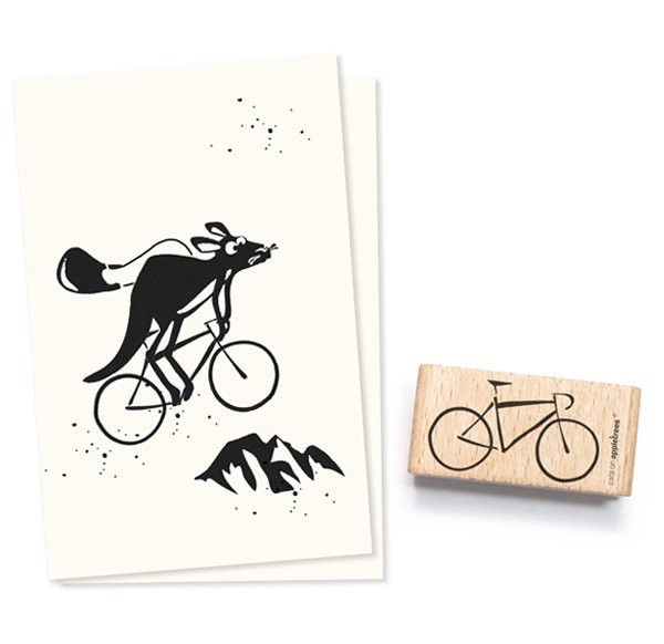 Stempel fiets/ bike