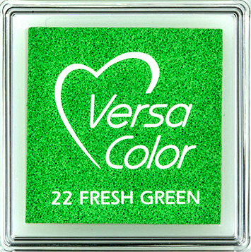 Versacolor    22 FRESH GREEN    Groen stempelkussen