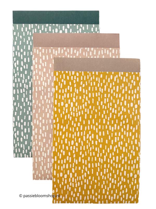 MIX gekleurde cadeauzakjes patroon (10 stuks)