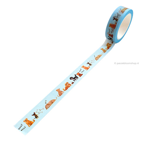 Washi tape honden