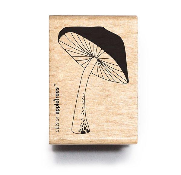 Stempel paddenstoel open