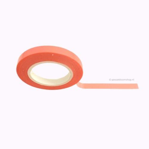 Dun washi tape egaal neon roze
