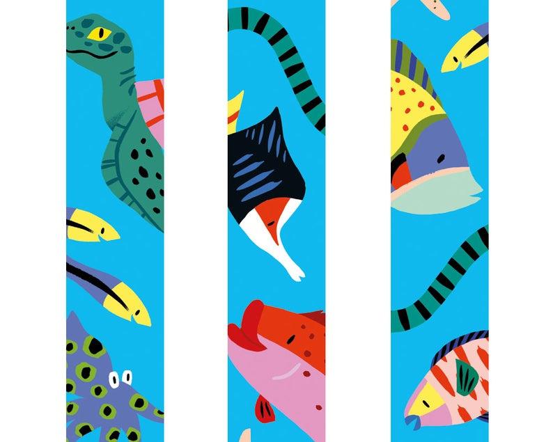 Washi tape Zee dieren, vissen | Marijke Buurlage