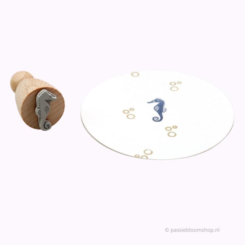 Klein stempeltje zeepaardje | L |
