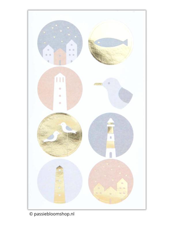 Stickers zee vakantie