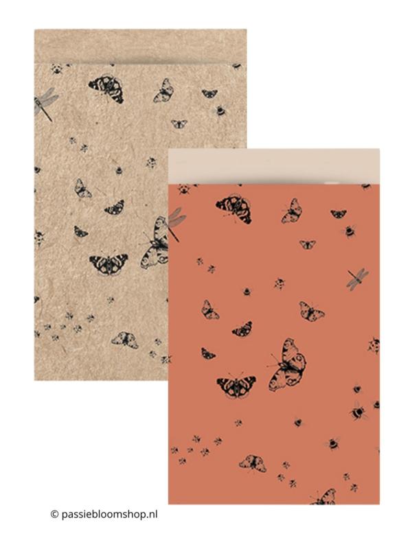 MIX cadeauzakjes vlinders (10stuks)