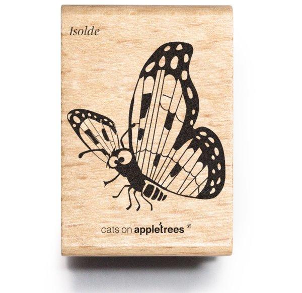 Stempel vlinder Isolde groot