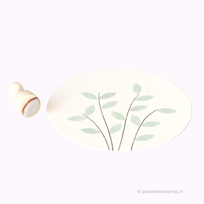 Mini stempel S | Bloemblaadje