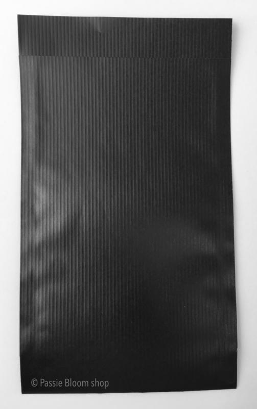 Cadeauzakjes mat zwart 12x19