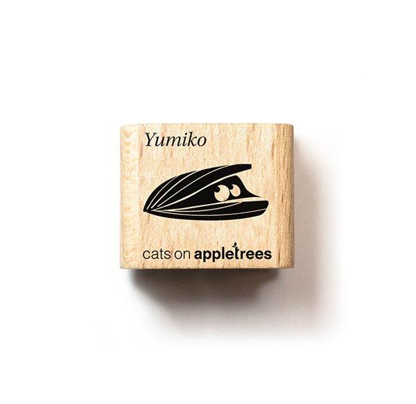 Stempel mossel schelp | Cats on appletrees | mini 27215