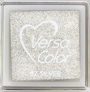 Versacolor    92 SILVER    Metallic Zilver stempelkussen