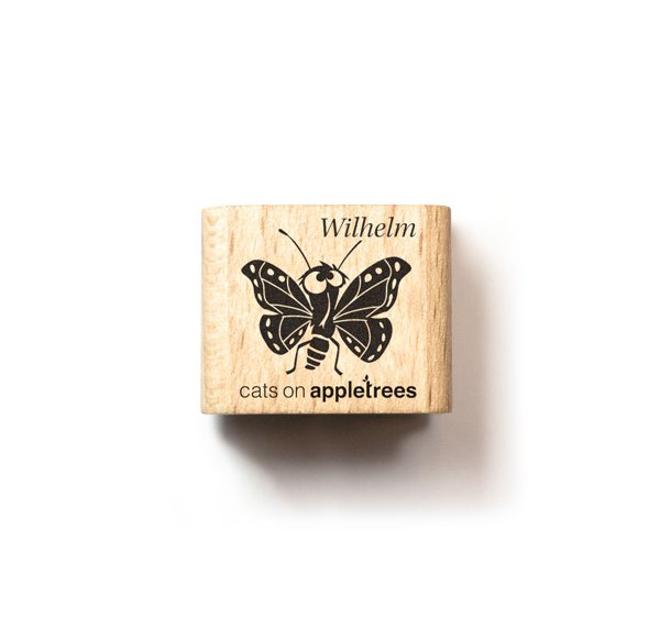 Klein stempeltje vlindertje