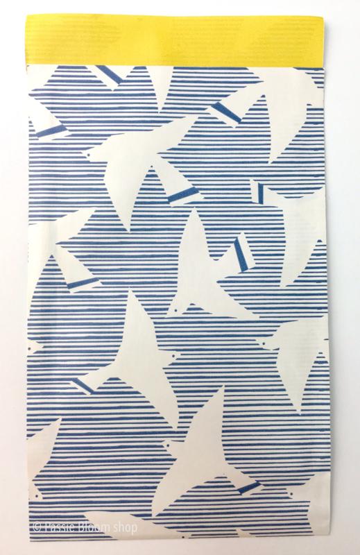 Cadeauzakjes witte vogels 12x19