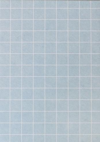 DIY zelf een kaart maken, blauw grid A6 DIK