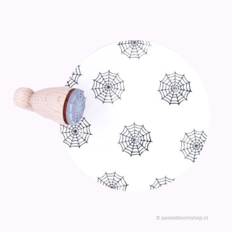 Mini stempel spinnenweb | M |