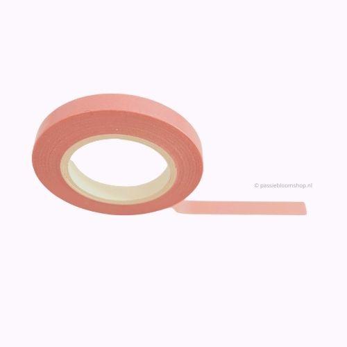 Dun washi tape egaal oud roze