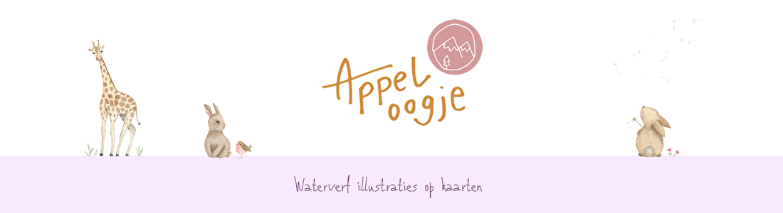 Appeloogje illustraties