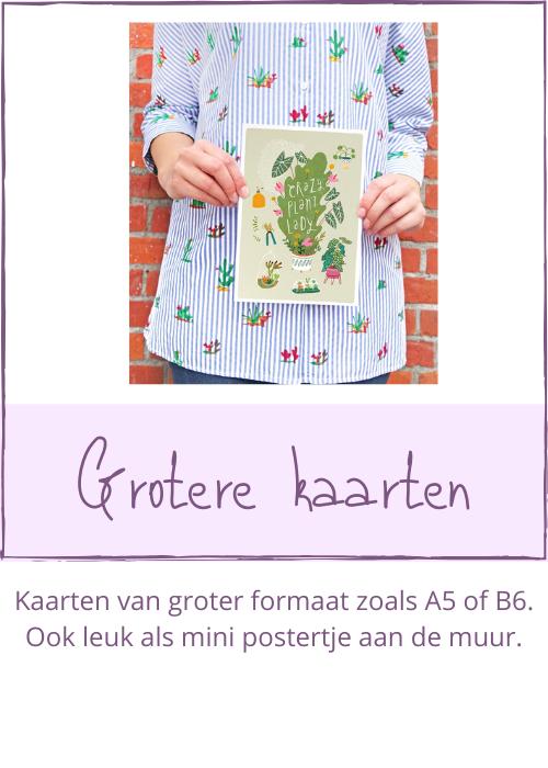 A5 poster kaart