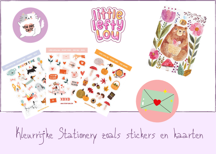 Little Lefty Lou stationery