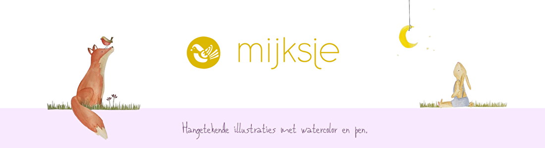 Mijksje illustraties passie Bloom webshop