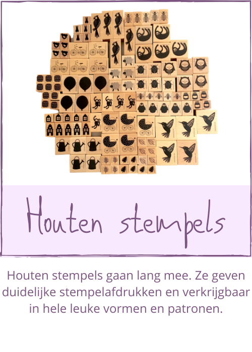 Houten stempels
