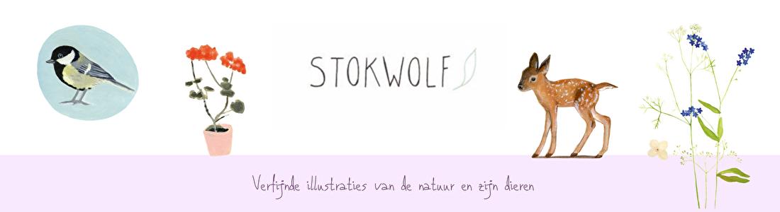 Stokwolf kaarten passie Bloom