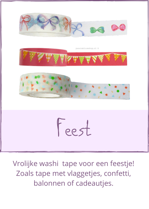Washi tape feest