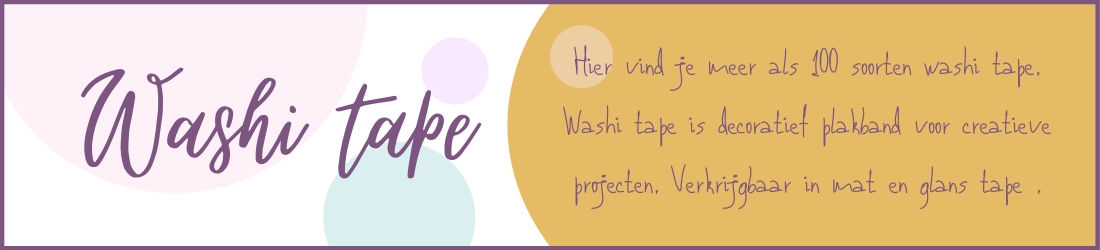 Washi tape webshop