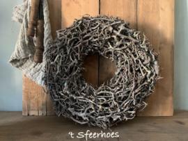 krans bonsai, naturel, doorsnede 45 cm
