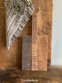 oude houten broodplank