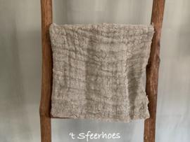 linnen chippy doek: onbedrukt (45x45 cm)