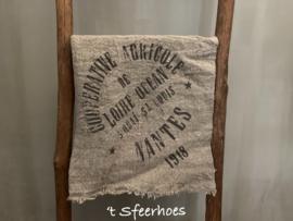 linnen shabby doek: graanzak (45x45 cm)