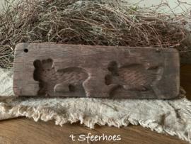 Oud doorleefd houten speculaasplankje 2