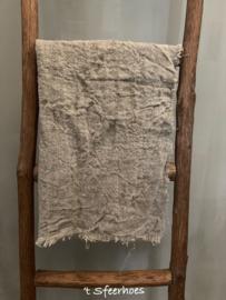 linnen shabby doek: onbedrukt en gerafeld (40x60 cm)